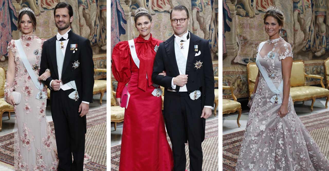 Allt om klänningarna på kungens Nobelmiddag