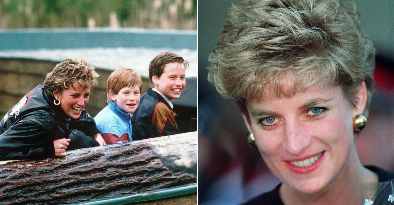 Dianas rörande brev - avslöjar juldetaljen om sönerna