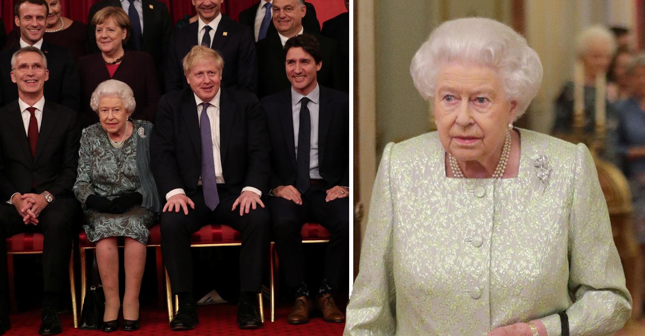mingel hos drottning elizabeth buckingham palace