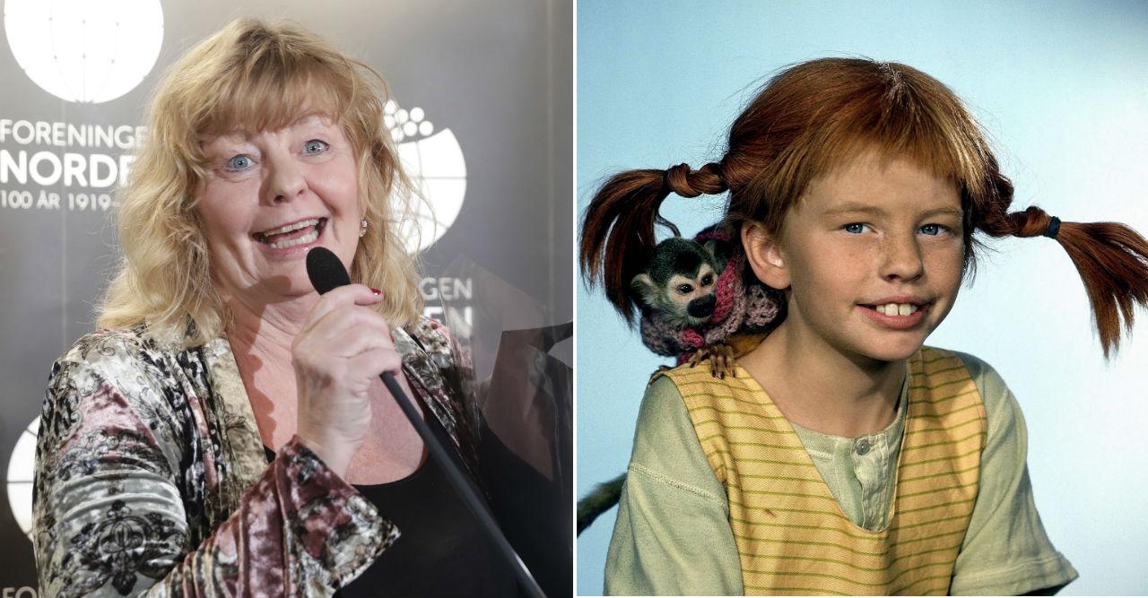 Pippis hemliga resa utomlands – dök upp på stor gala