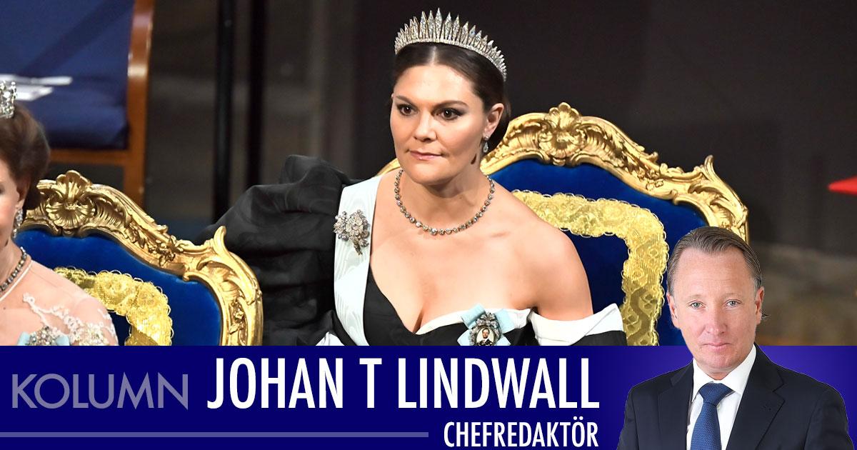 Johan T Lindwall: Victorias dolda sorg under Nobelfesten