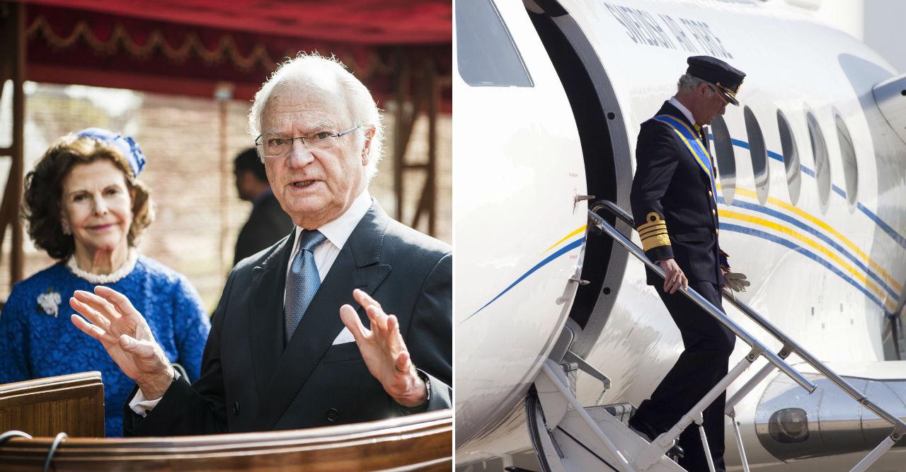 Kabinpersonalen avslöjar vad som hände på kungens flygplan