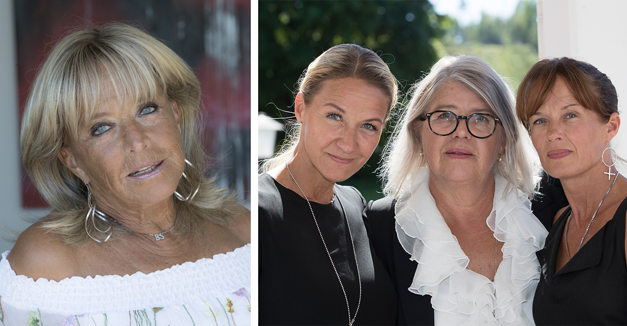 Lill-Babs-döttrarna återförenade – mötet vid mammas grav på julafton