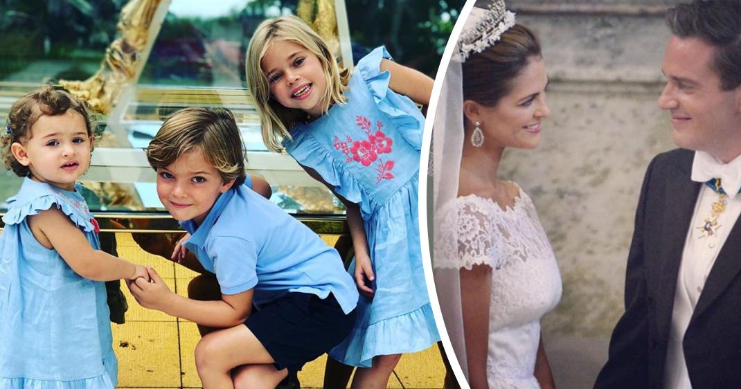 10 privata bilder från Madeleines år i Florida