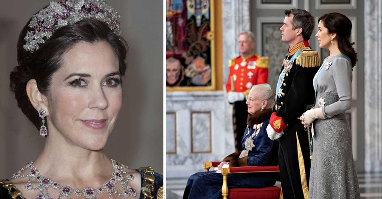 Mary tar plats som drottning – ersätter Margrethe