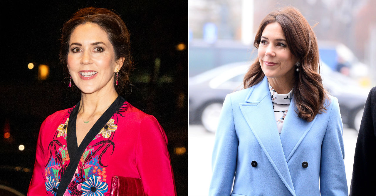 Kronprinsessan Mary gör debut som drottning