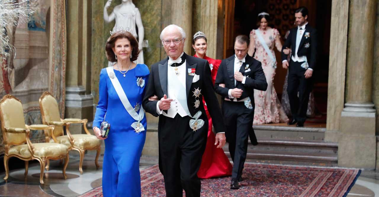 Just nu! Kungens Nobelmiddag 2019 har börjat