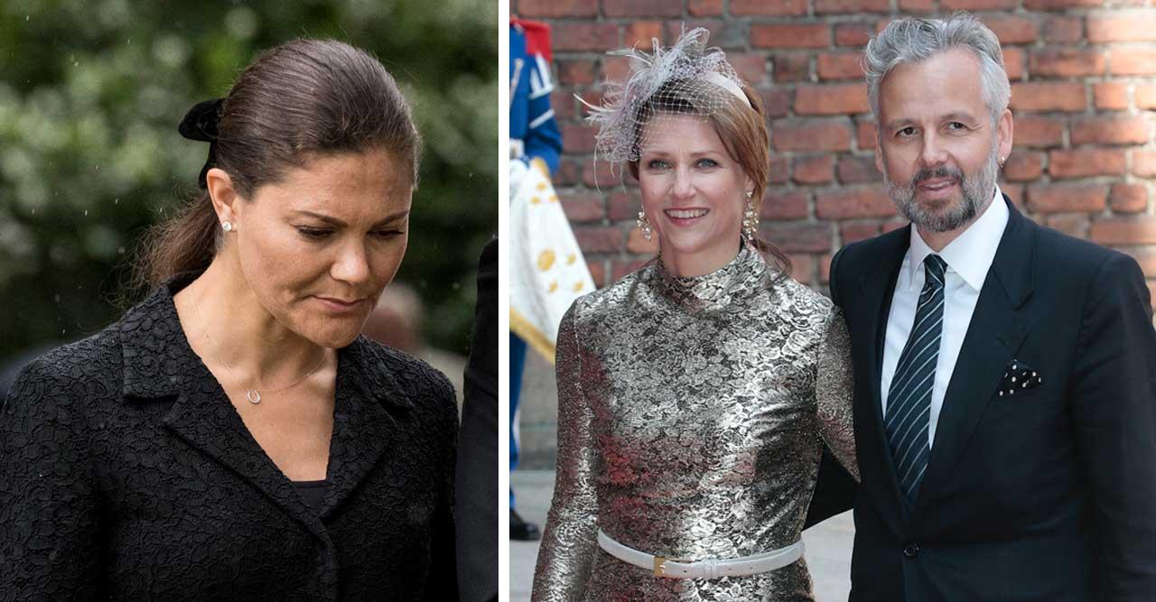 Victoria åker till Oslo för att stötta Märtha Louise