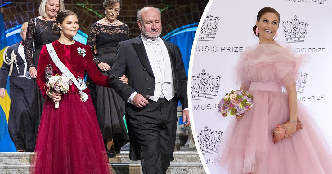 8 magiska festklänningar från Victorias otroliga år
