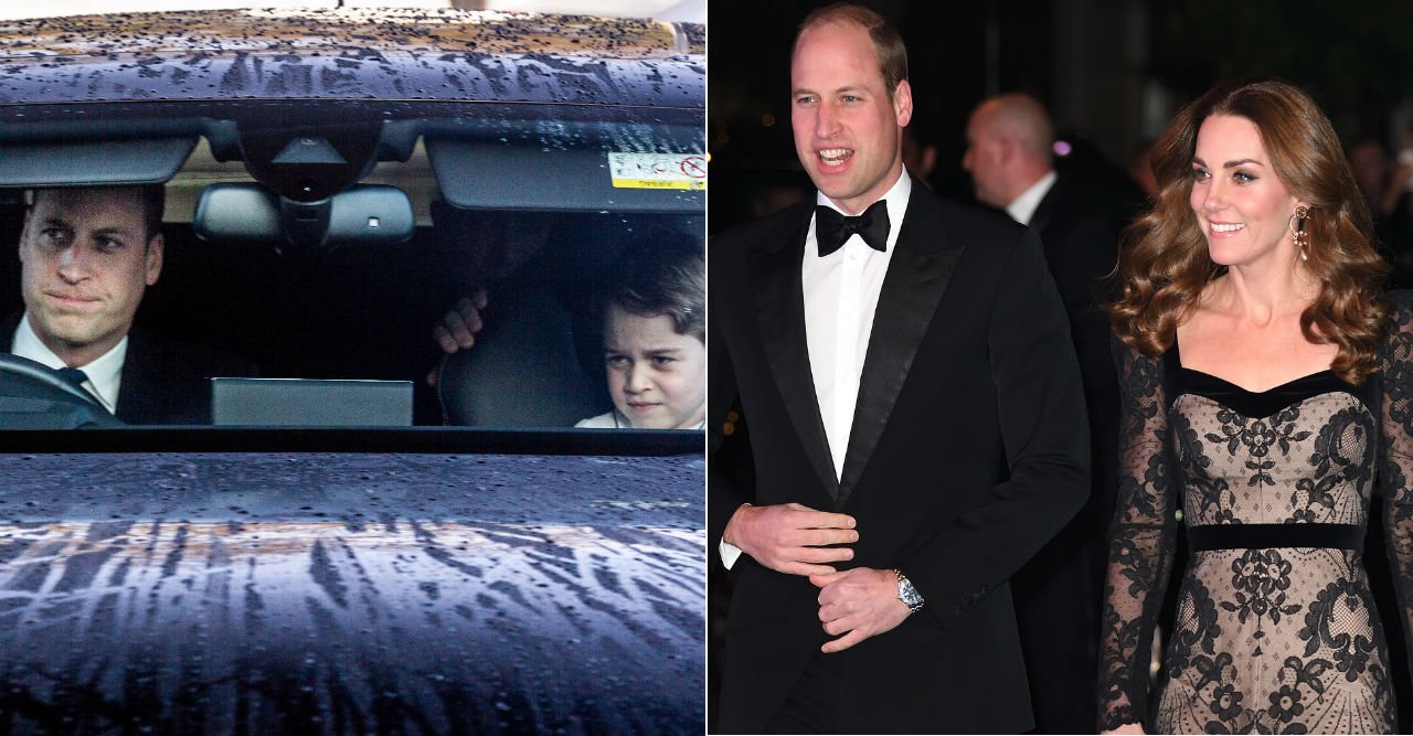 Kritiken mot William – efter bilden på George