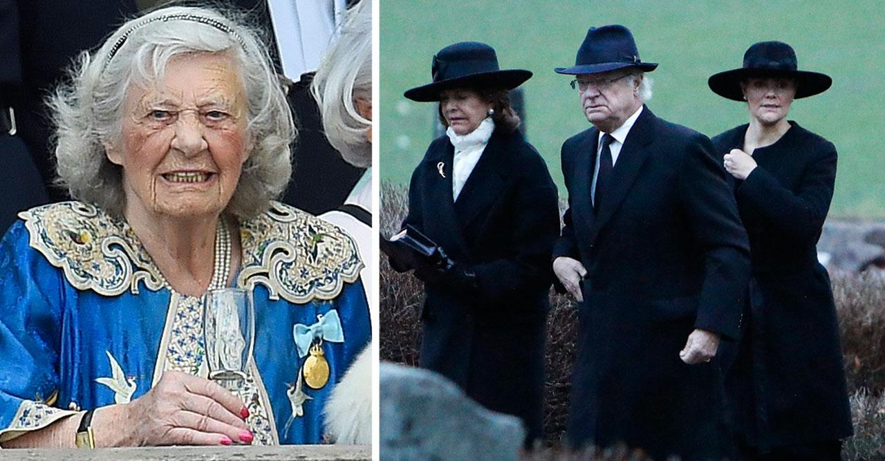 Då tar kungafamiljen farväl av Dagmar von Arbin