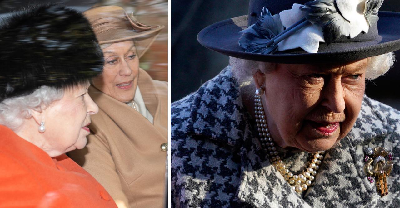 Elizabeth fick lägga firandet åt sidan.