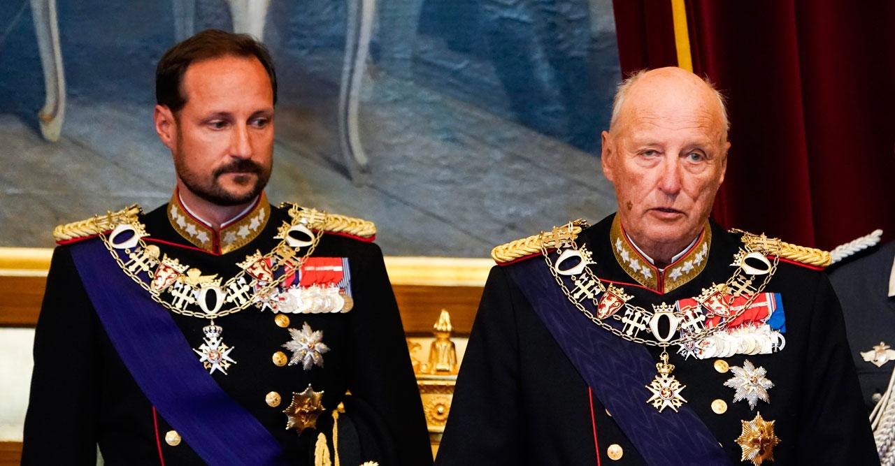 """Norska hovet: """"Kung Harald blir kvar på sjukhuset"""""""