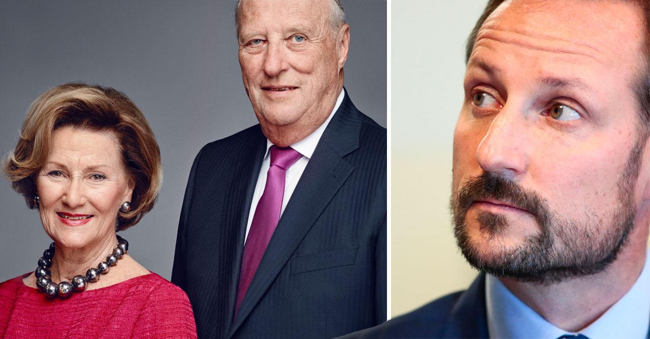 Haakons nya besked om kung Harald – efter oron