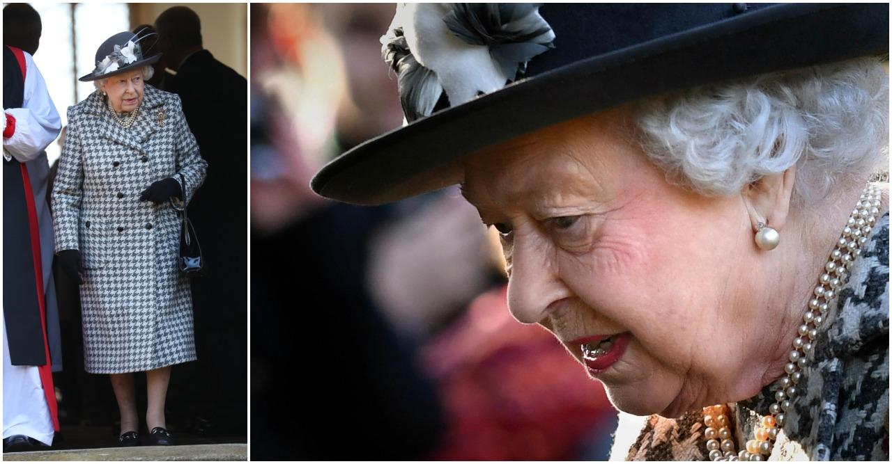 Drottning Elizabeth har tvingats ställa in.