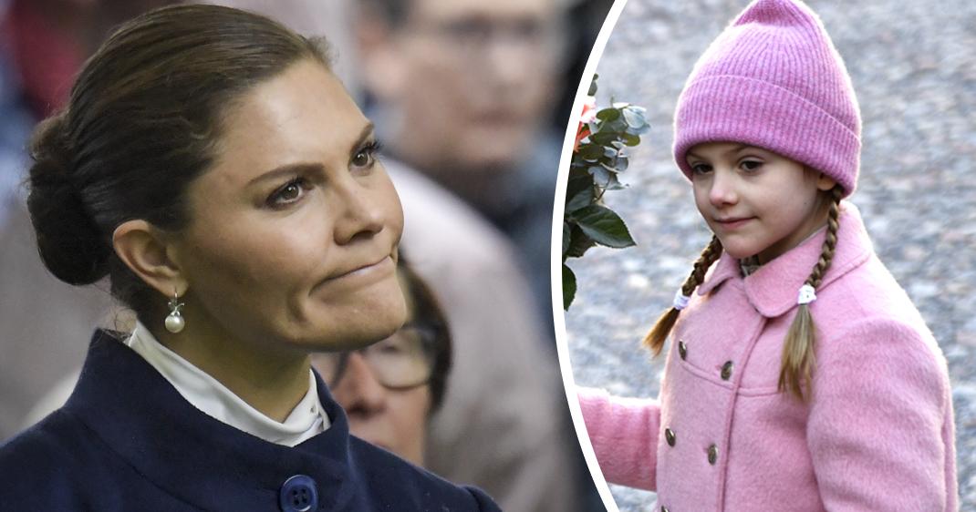 Estelle skadad – Victoria ställer in Aris begravning