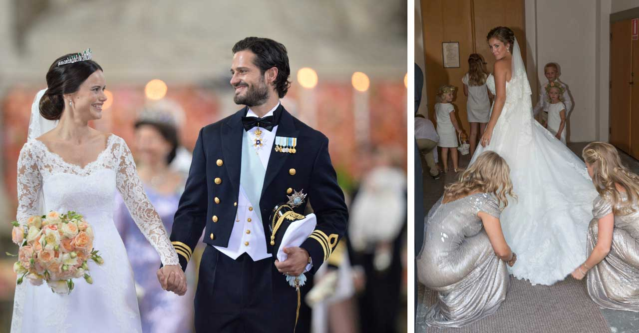 29 vackra brudklänningar – till superpris