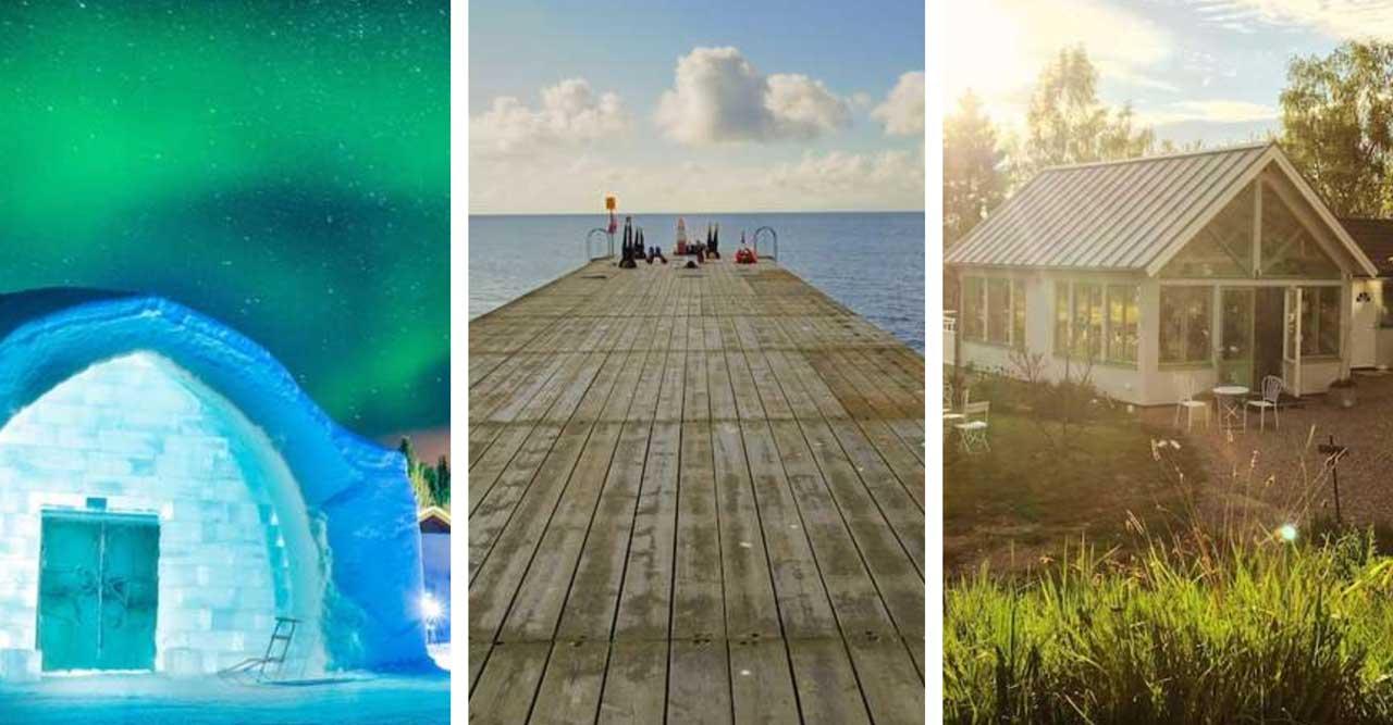 10 härliga hotell i Sverige – perfekta för en staycation