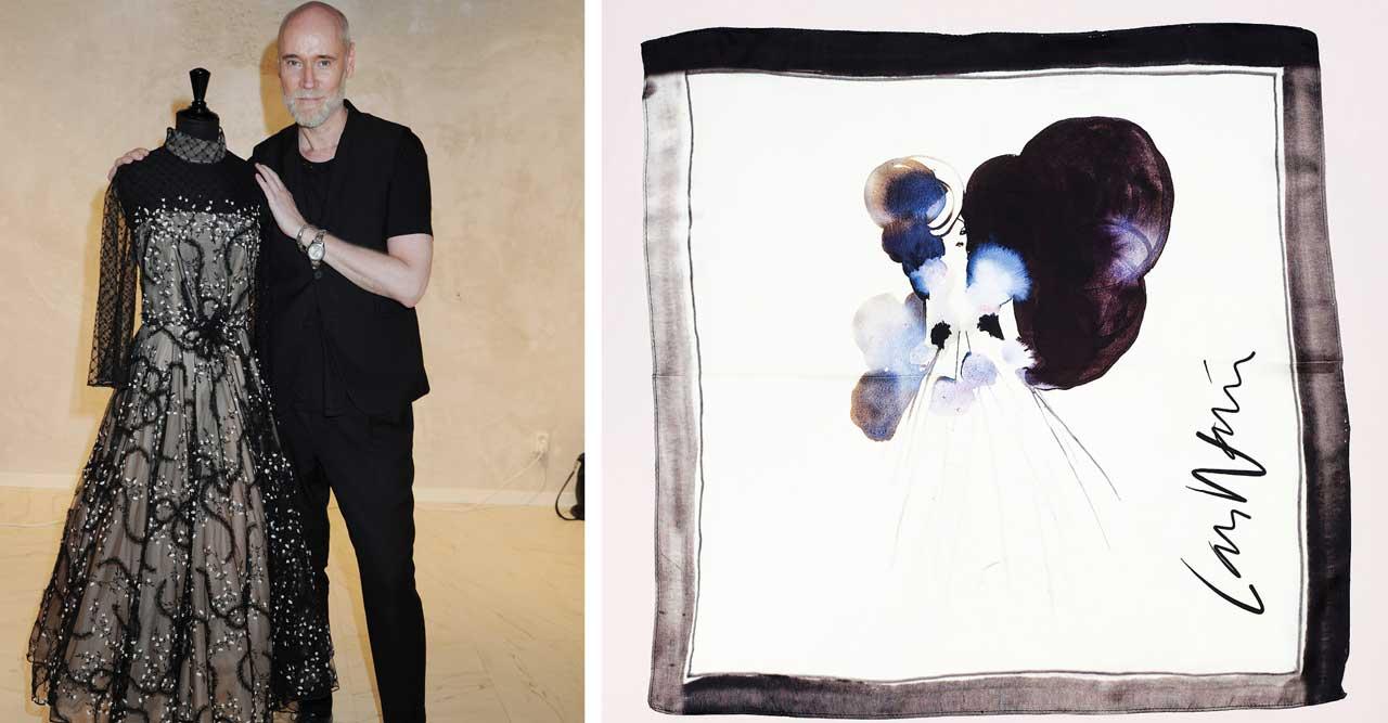 Lars Wallin samarbetar med Stina Wirsén – gör exklusiva scarfs