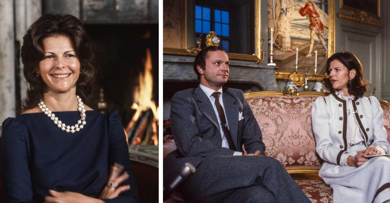 18 bortglömda bilder på drottning Silvia – från 1980-talet