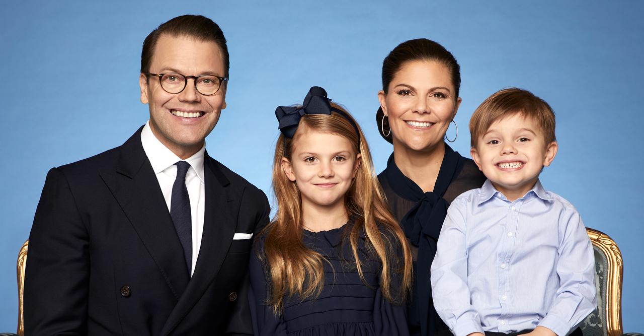 Nya magiska bilder på Victoria med barnen – se dem här!