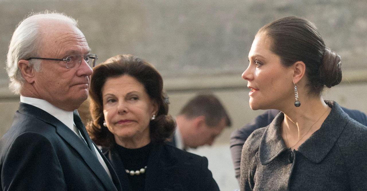Just nu: Kungaparet och Victoria i krismöte med regeringen