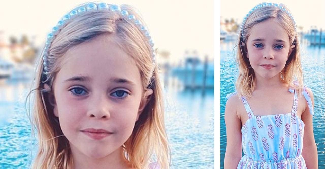 Prinsessan Madeleines nya bild på prinsessan Leonore 6 år 2020.