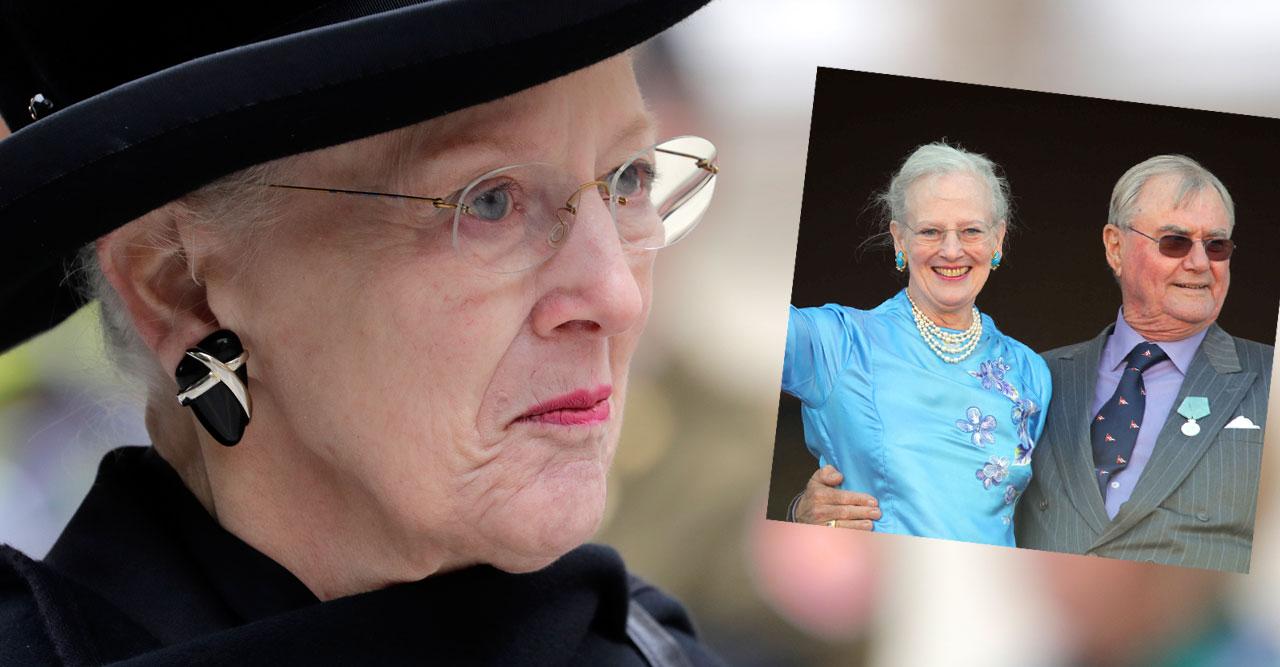 Tufft för Margrethe – dagen då sorgen efter Henrik är som värst