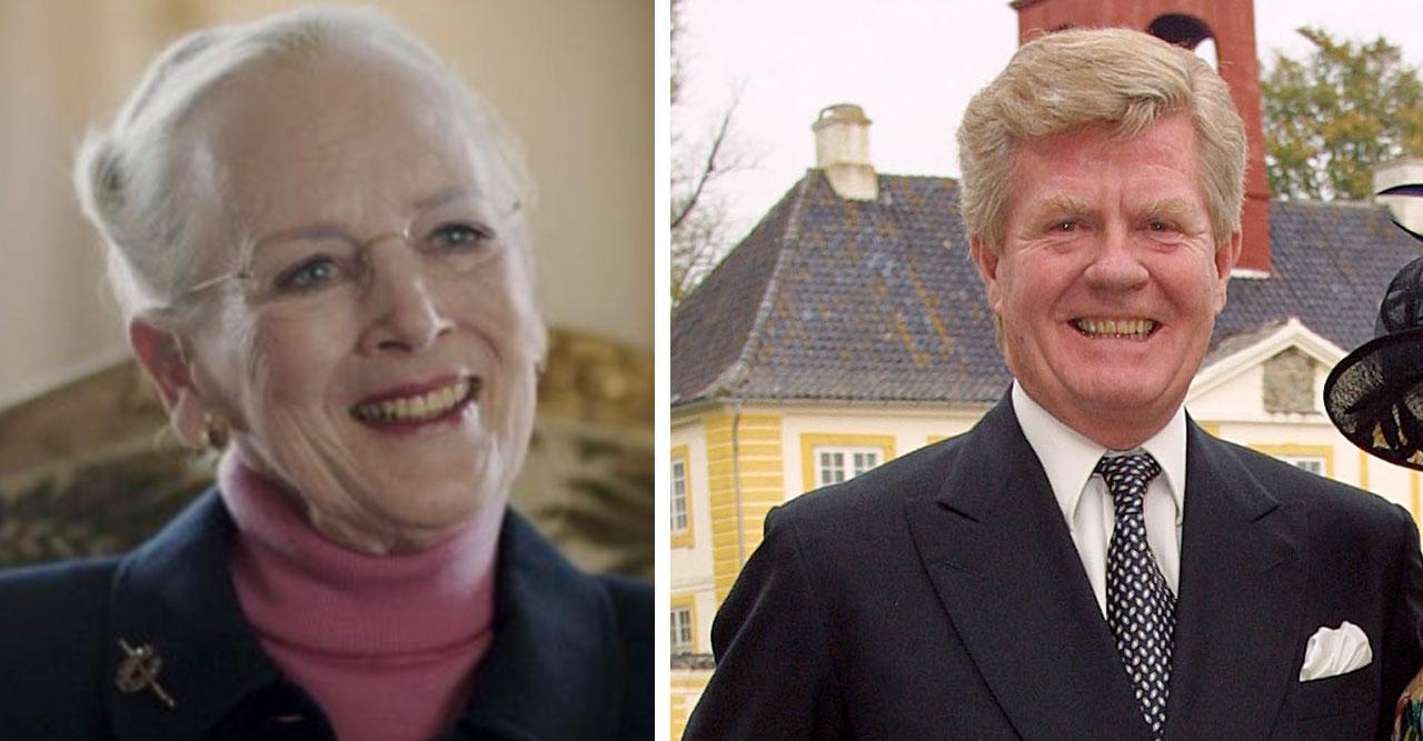 Drottning Margrethe kopplas ihop med svensk man – kom ut ur hotell tillsammans