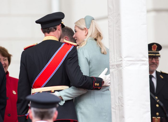 Norges kronprinspar Mette-Marit och Haakon.