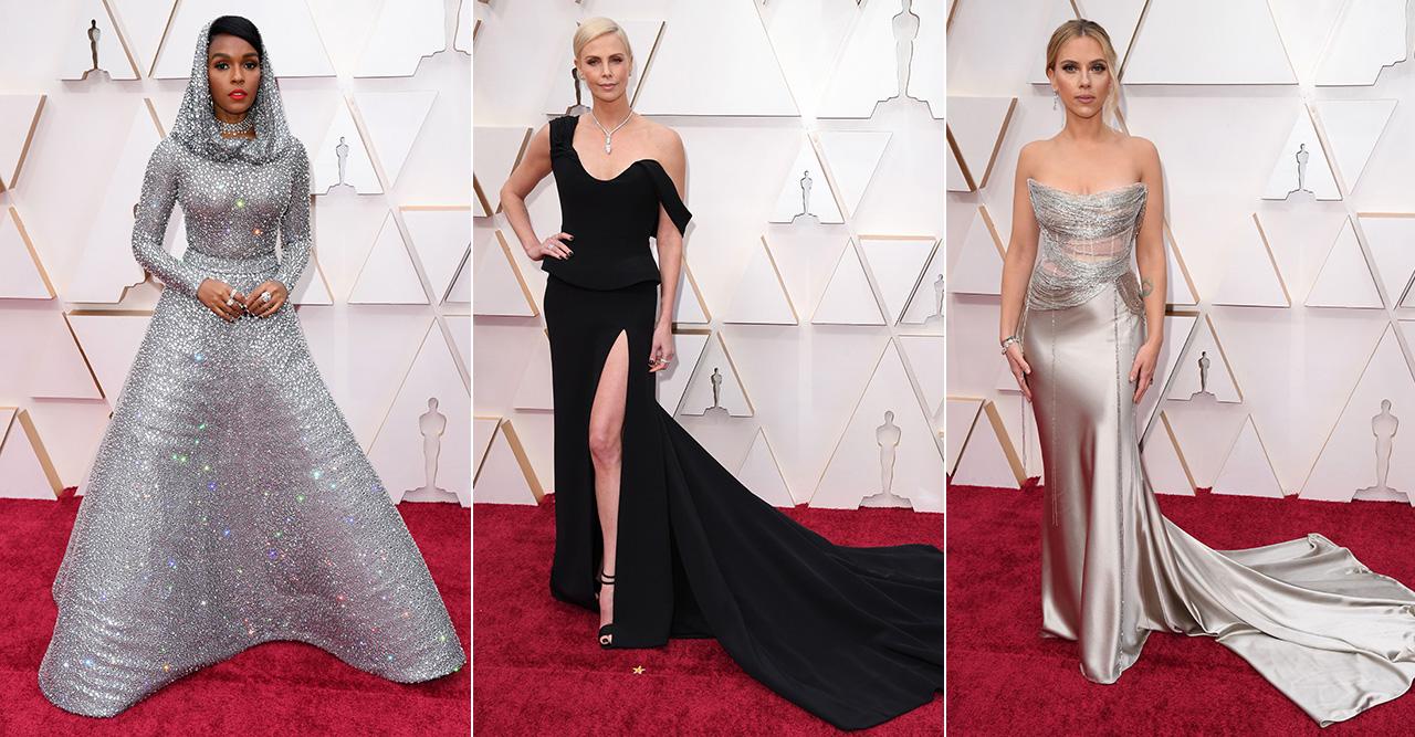 Stjärnorna på röda mattan Oscarsgalan