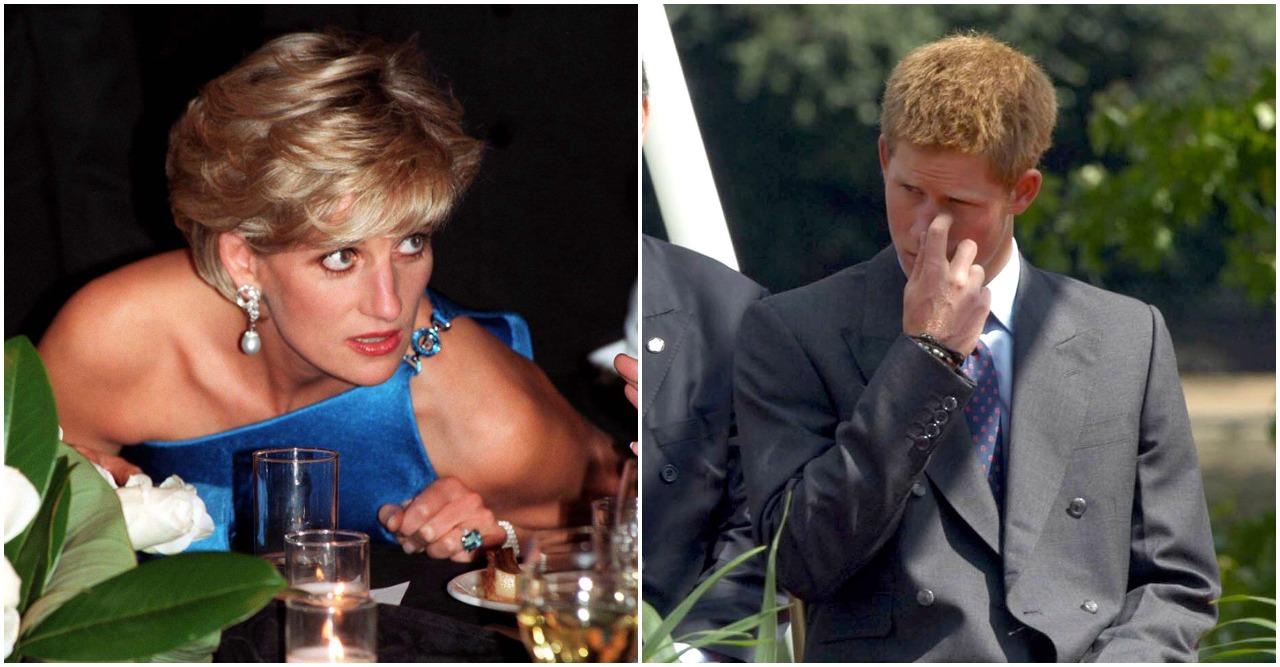 Prins Harry går i terapi efter Dianas död.