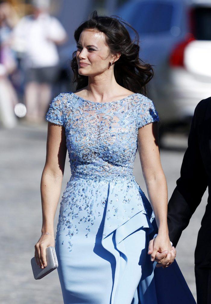 Sofia i ljusblått – vilken kombination!