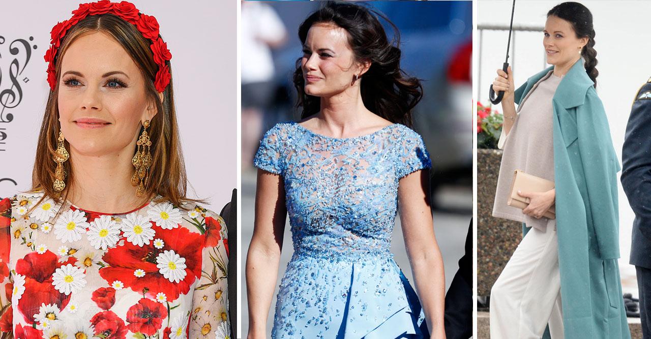 Sofias glädje – utsedd till världens bäst klädda kunglighet