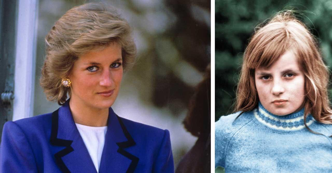 """Dianas avslöjande om uppväxten: """"Oerhört olycklig"""""""