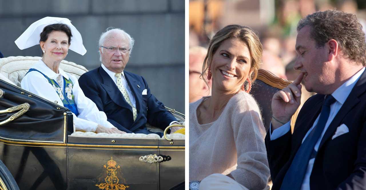 Efter kritiken – nu tar kungafamiljen ett nytt beslut kring det privata