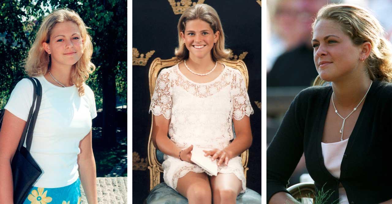26 bortglömda bilder på prinsessan Madeleine – från 90-talet