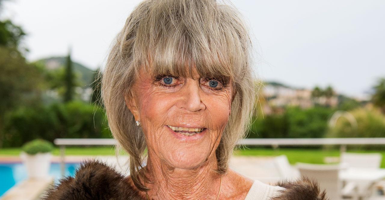 Prinsessan Birgitta på Mallorca.