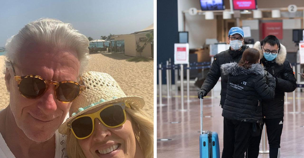 Björn och Patricia Borg flyr Sverige med sonen – gömmer sig på helt coronafri plats