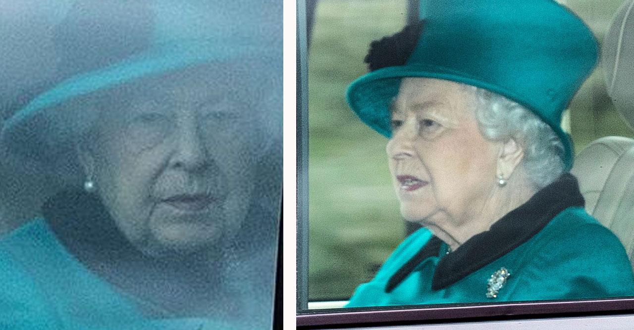 drottning Elizabeth jobbar trots coronaviruset och risken för Covid-19-