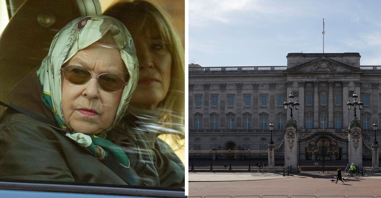 Krisbeskedet! Coronasmittan har nått Buckingham Palace