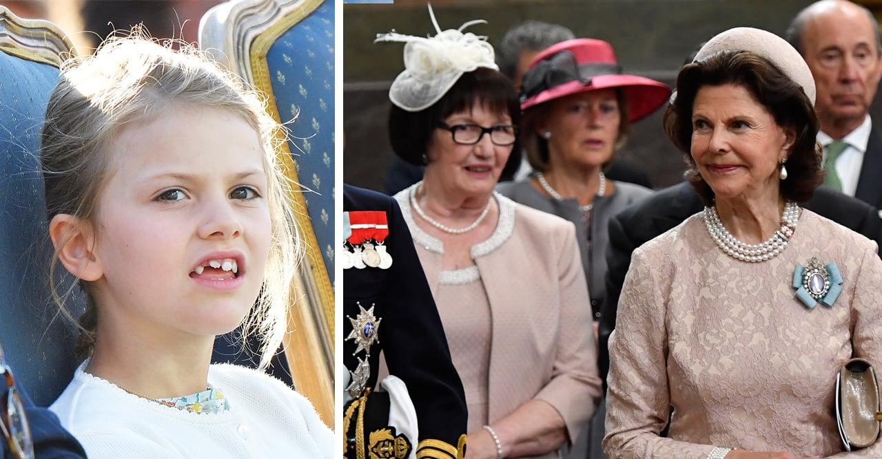 prinsessan estelles relation med drottning silvia och ewa westling
