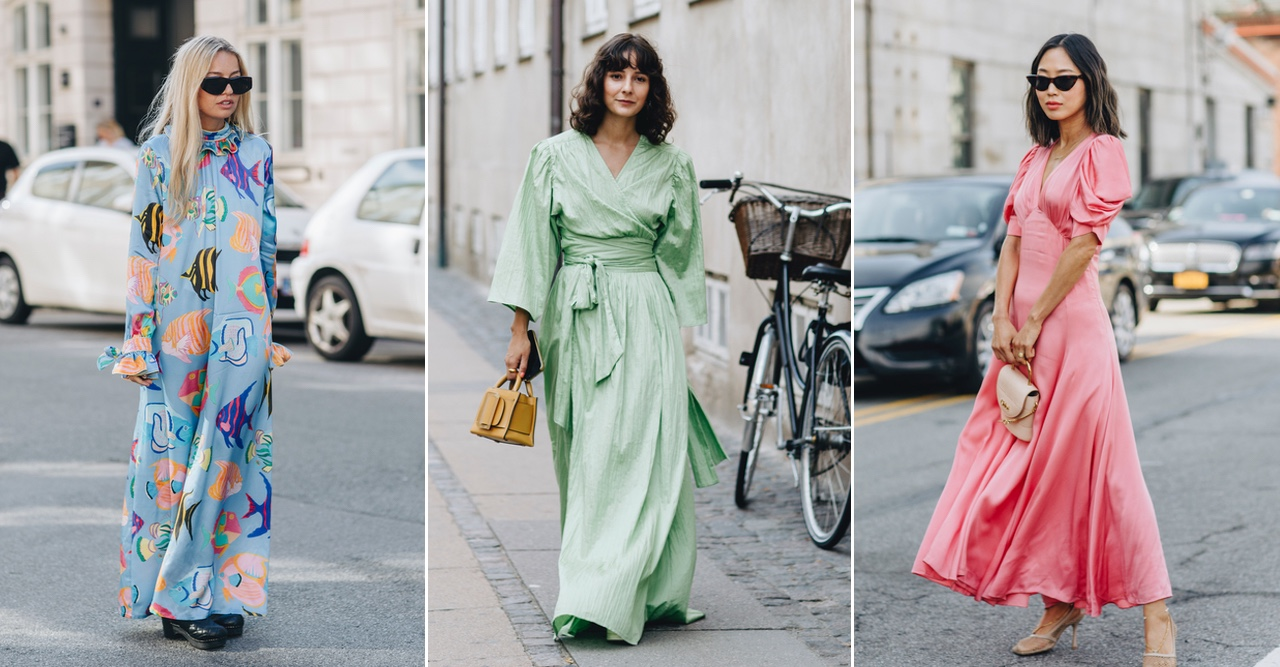 16 färgglada långklänningar som får oss att längta efter sommaren