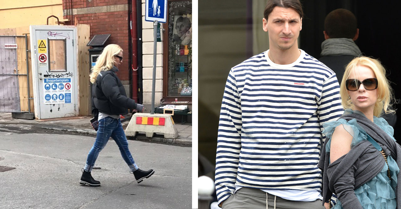 Zlatan och Helena har varit ett par i över 15 år.