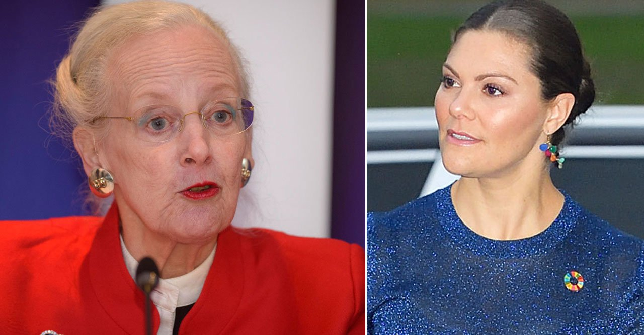 Svenska reaktionen på Margrethes utbrott:
