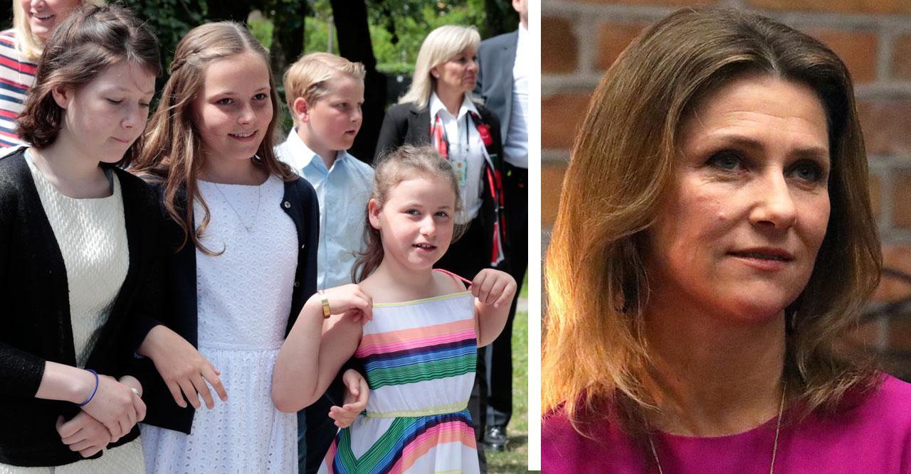 Märtha Louise och barnen satta i karantän efter besöket hos Durek