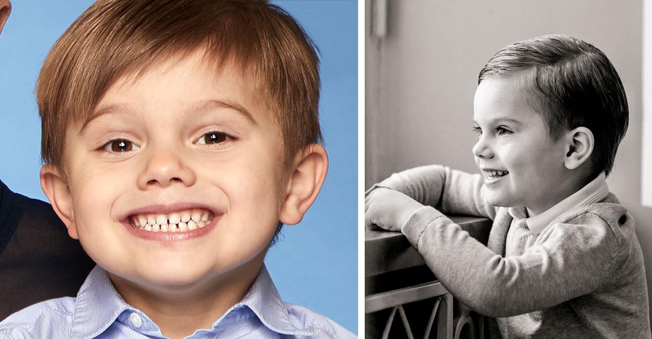 Detaljerna i Victorias nya bild på prins Oscar!