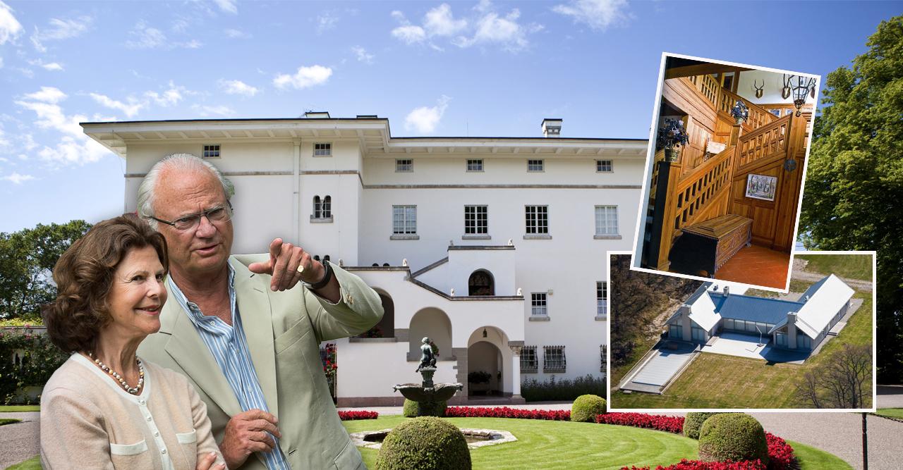 Inifrån Sollidens slott – så ser det ut hos kungaparet