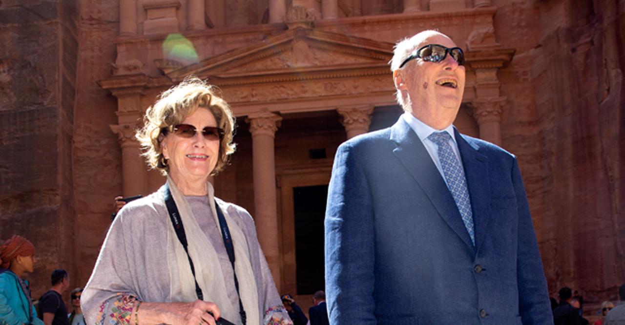 14 magiska bilder på Harald & Sonja i Jordanien!