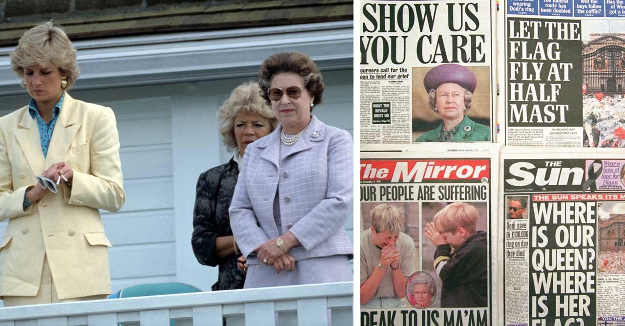Diana och Elizabeth 1997